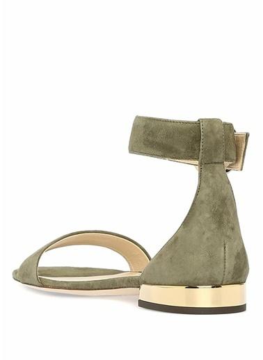 Jimmy Choo Sandalet Yeşil